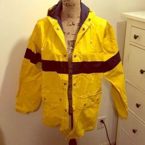 Raincoat woman's small